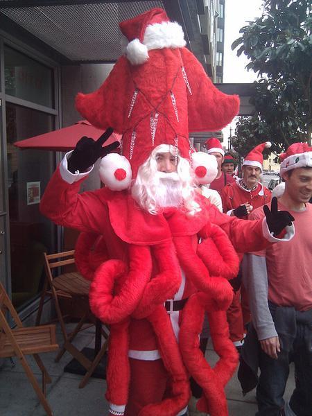 Père Noel tentacule