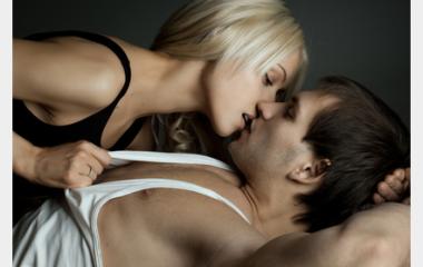 Embrasser sa copine