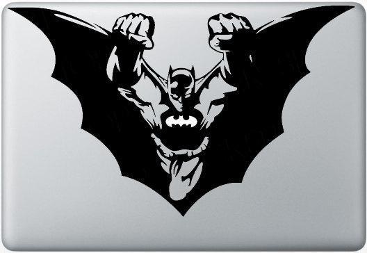 Les super-héros aussi se déclinent en stickers pour macbook