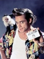 Jim Carrey dans Ace Ventura