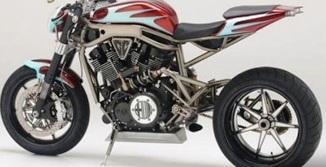 Toujours des innovations dans la customisation des motos