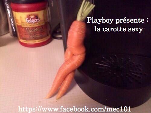 Une carotte ultra sexy...