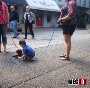 Une bonne idée pour ne pas perdre son enfant ?