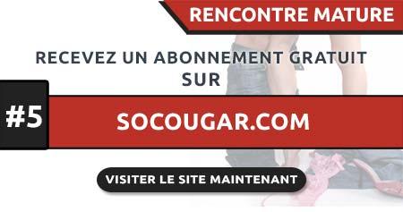 Site de rencontre cougar SoCougar.com