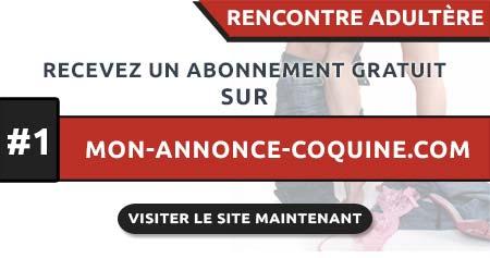 Rencontre Adultère en France avec Mon-Annonce-Coquine.com