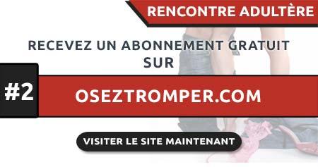Rencontre Adultère en France avec OsezTromper.com