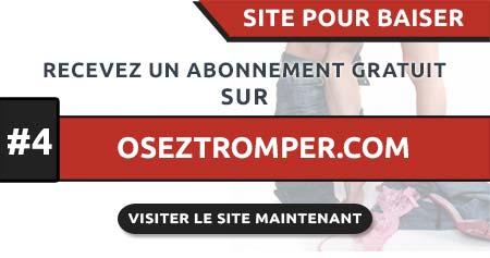 Site pour baiser OsezTromper.com