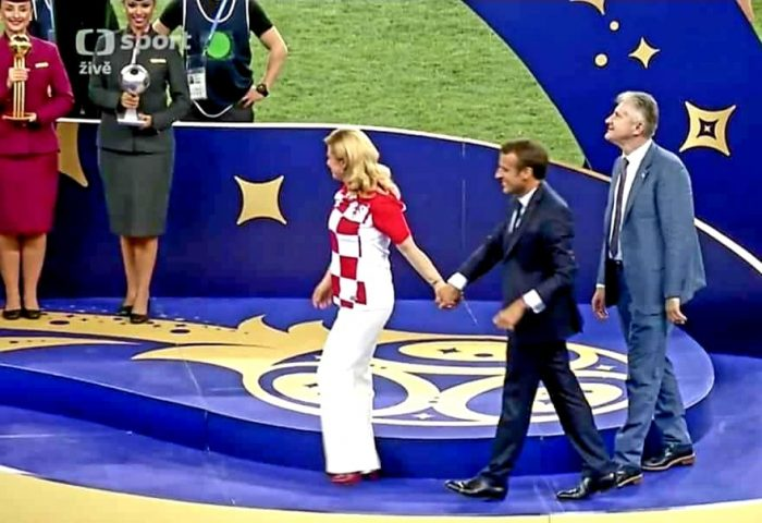 Couple Emmanuel Macron Amour entre Emmanuel Macron et Kolinda Grabar-Kitarović