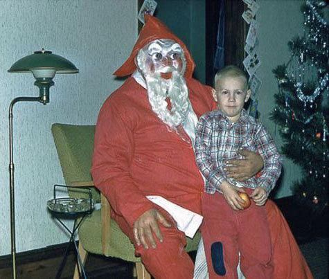 Père Noel tout gris