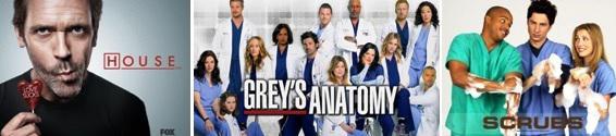 Les meilleures séries médicales