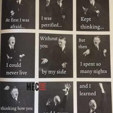 Hitler qui danse