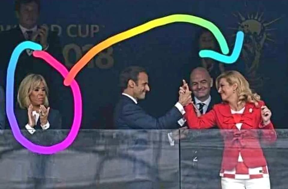 Femme du Président Macron jalouse