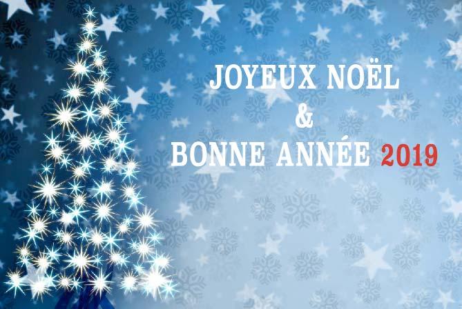 joyeux noël et bonne année 2019